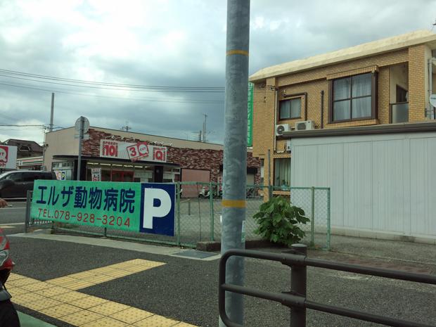 神戸エルザ動物病院の場所