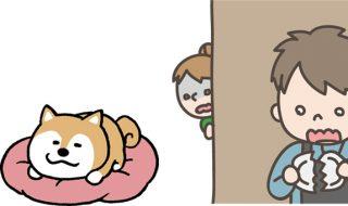 犬 喉を鳴らす 意味